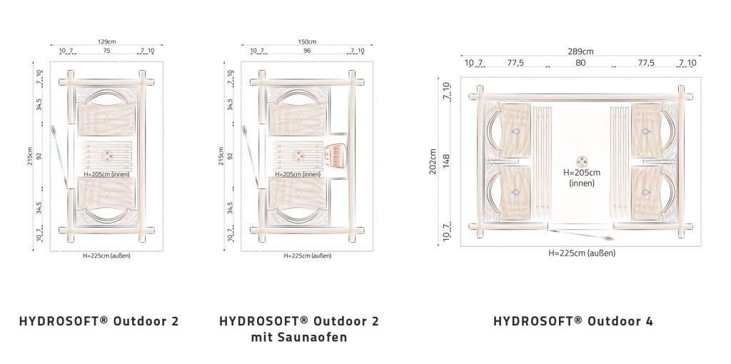 Hydrosoft Outdoor Grundriss