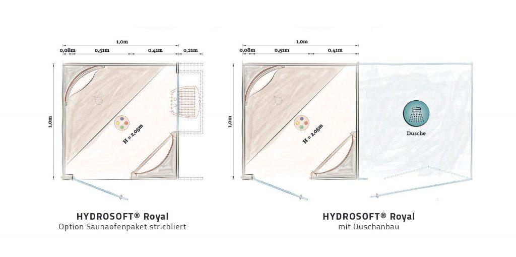 Hydrosoft Royal Grundrisse