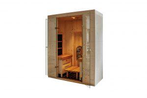 Hydrosoft Private SPA mit Soft Saunaofen